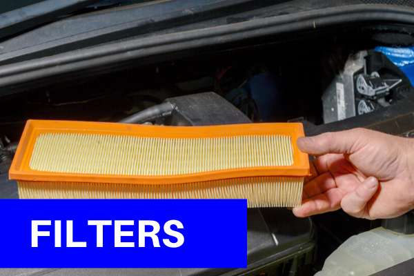 Filters changed during service at PJS Autos Swindon